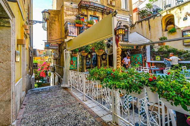 ulice Taormie