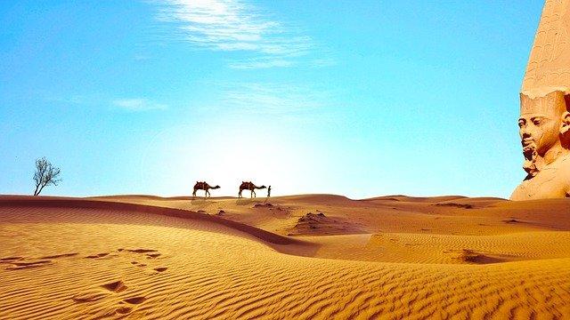 egyptská poušť