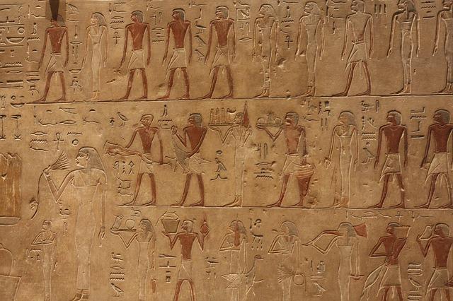 egyptské fresky