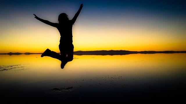 radostný skok