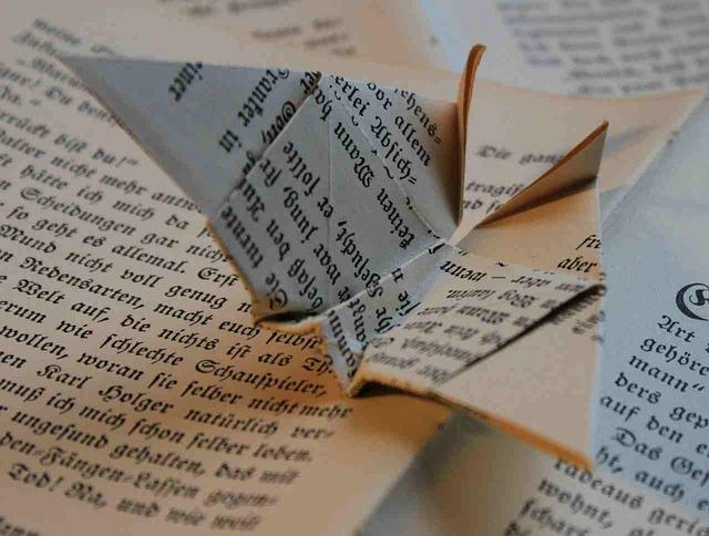 origami z knihy