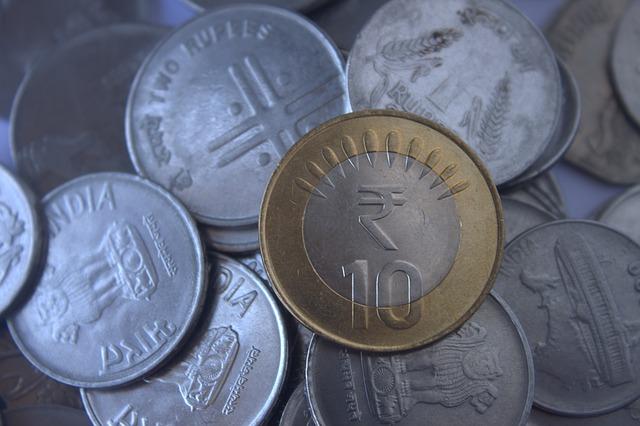 indické rupie