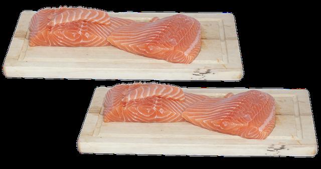 bílkovina v podobě rybího filetu