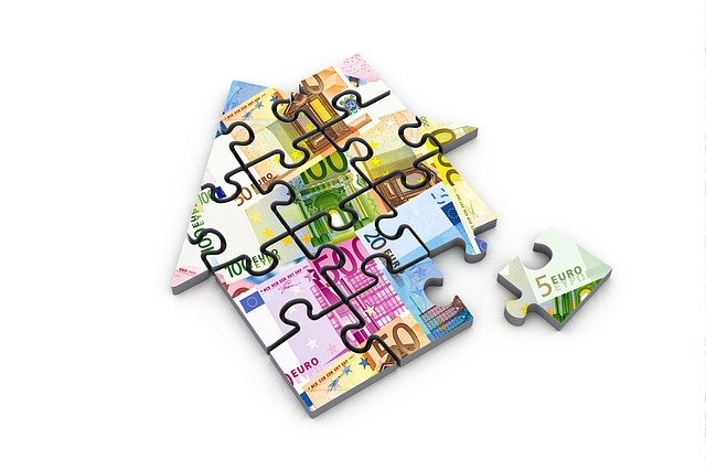peníze na dům, puzzle