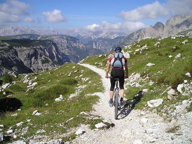 vysokohorská cyklistika